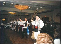 Pittsburghs I Campagnoli performing the Sicilian Whip Dance (2000)