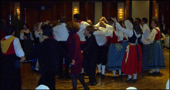 Everyone joins in, dancing la Quadriglia (2002)