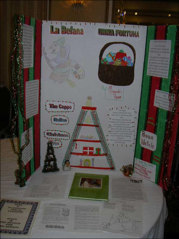 Poster display of Italian Christmas traditions (2004)